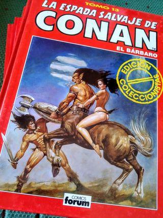 Pack 5 tomos La espada salvaje de Conan el bárbaro
