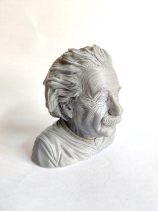Busto Albert Einstein 8cm