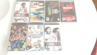 Psp 7 juegos