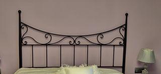cabezal cama hierro forjado