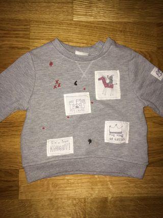 Jersey de ZARA talla 9-12 Meses niña niño