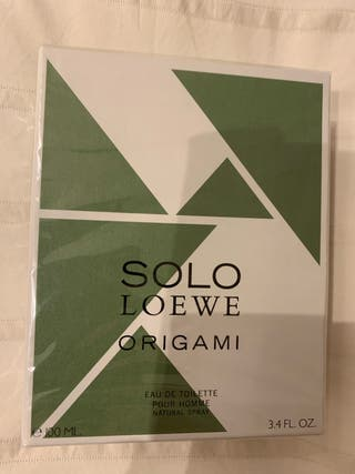 Colonia Loewe Solo Origami hombre