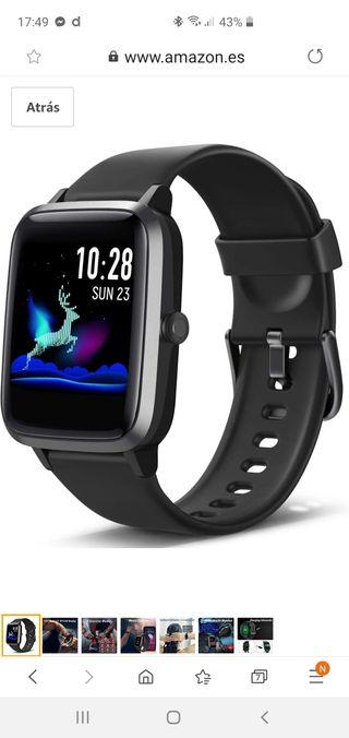 Smartwatch de Pantalla táctil,Pulsera Actividad