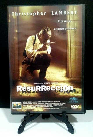 Resurrección Christopher Lambert dvd
