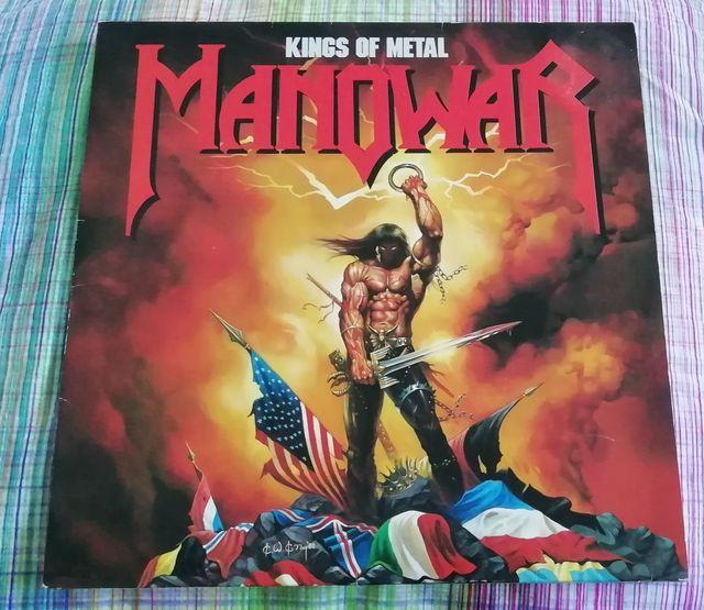 MANOWAR vinilo KINGS OF METAL