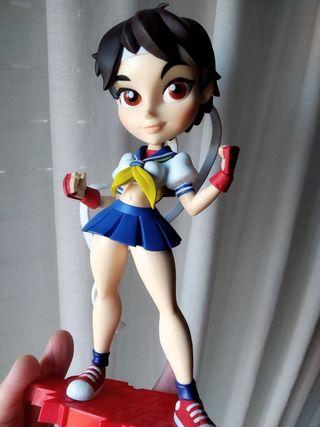 Estatua ORIGINAL Sakura Street Fighter 19 cm