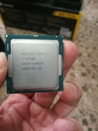 Intel Core I7-6700k y MSI Z270 GAMING M5