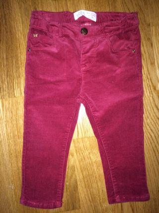 Pantalon de ZARA talla 9-12 Meses Bebe niña