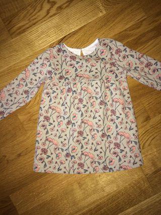 Vestido de ZARA talla 9-12 Meses Bebe niña