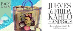 Moda Bolso de Playa Frida Kahlo Liquidación