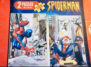 2 puzzles de Spiderman