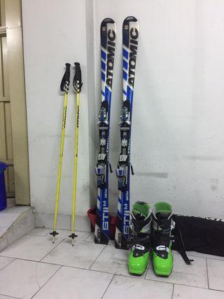 Esquís y Botas hombre ATOMIC ST11