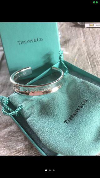 Pulsera Tiffany & co. Plata de ley maciza