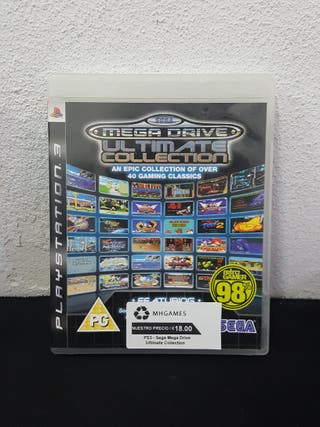 Juego Sega Mega Drive Ultimate Collection PS3