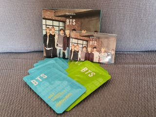 BTS Mascarillas Faciales + PhotoCard Set Especial