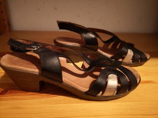 Sandalias de piel Sergiotti