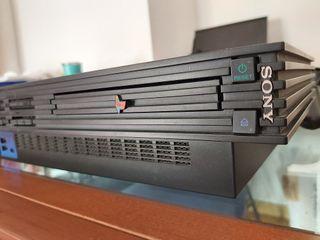 PS2 Fat y 5 mandos