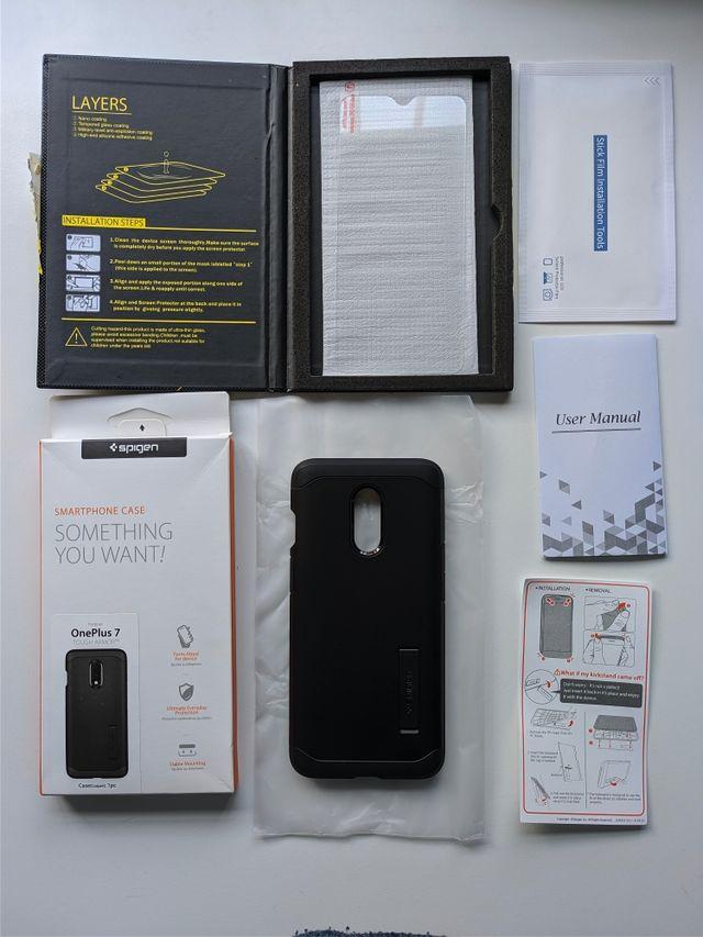 Protector de pantalla OnePlus 7