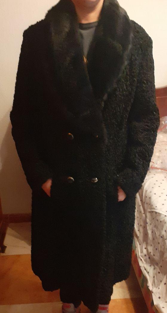 Abrigo garras de astracan