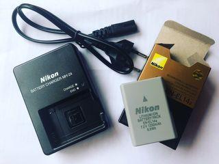 ENEL14a Batería Mas Cargador Para Cámara Nikon