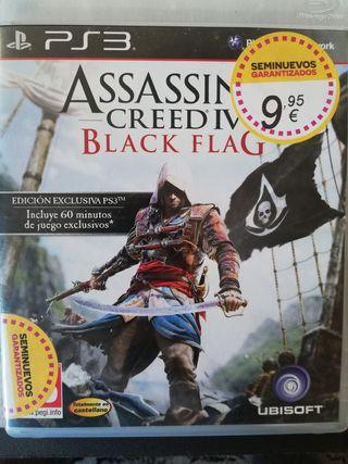 Ps3 Assisins creed black flag regalo juego formula