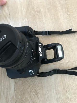 Canon EOS 4000D Cámara Digital.