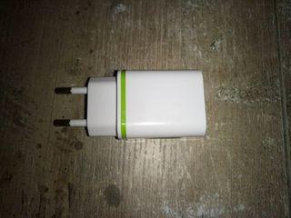 Cargador USB doble 2,1A