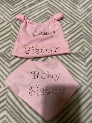 Baby sister set