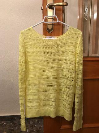 Jersey amarillo Bershka Talla S