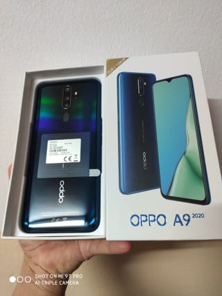 128gb/5000mah/Oppo A9 2020/ verde/ Sin estrenar