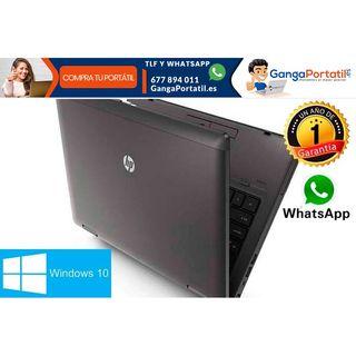 Portátil Hp ProBook 6470b, i3/500Gb/Cam/8Gb/Win 10