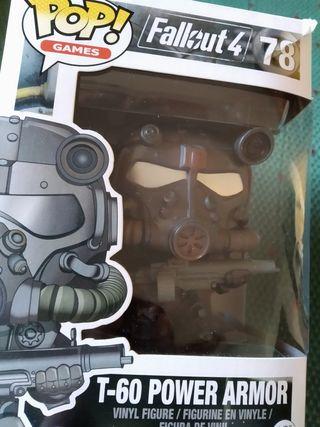 Funko Pop ORIGINAL Power armor Fallout. Con caja