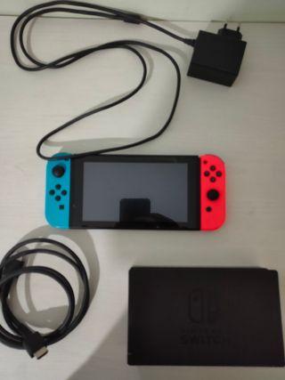 Nintendo Switch pirateable +Funda