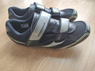 Zapatillas Shimano de ciclismo. N°44