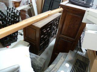 armario bajo rustico