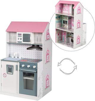 Casa muñecas roba 2en1 casa muñeca y cocina NUEVO