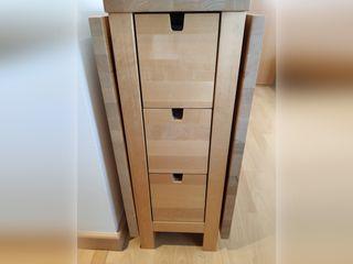 Mesa Ikea NORDEN de alas abatibles