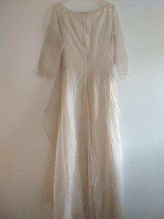 DEVOTA Y LOMBA vestido novia vintage
