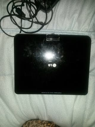 LG reproductor DVD portátil