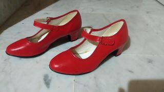 Zapato Flamenca Niña
