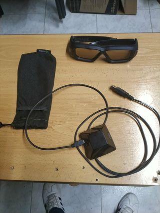 Gafas 3D Nvidia visión 2