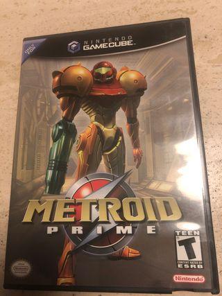 Juego Nintendo gamecube METROID