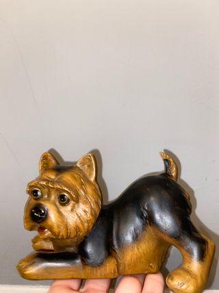 Figura perro de cerámica