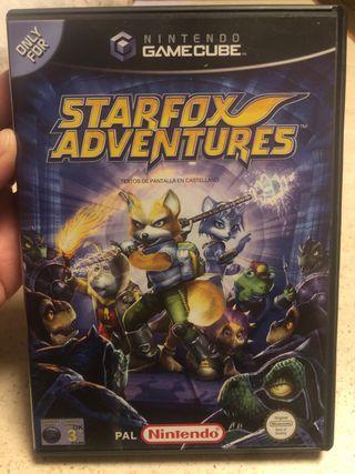 Juego Nintendo gamecube STARFOX ADVENTURES