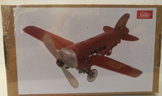 Juguete Antiguo Avión Junkers 1931. Reproducción