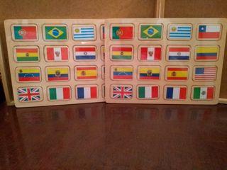 Puzzle de bandera