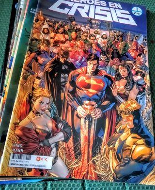 Serie COMPLETA (1-9) Héroes en crisis, de Tom King