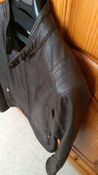 Cazadora chaqueta piel cuero