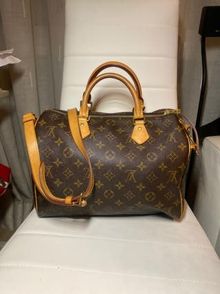 Louis Vuitton Speedy 30 bandolera original