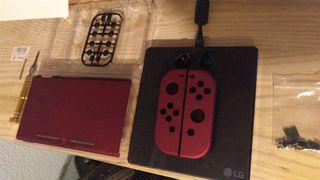 cambio carcasa Nintendo switch